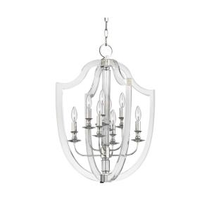 Arietta - Eight Light Pendant - 21.25 Inches Wide by 27.75 Inches High