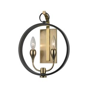 Dresden - Two Light Wall Sconce - 12 Inches Wide by 14.75 Inches High