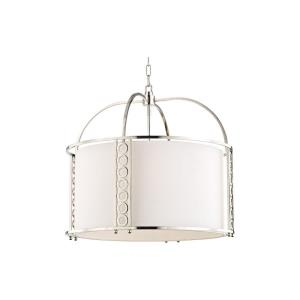 Infinity 8-W Pendant - 24 Inches Wide by 22 Inches High