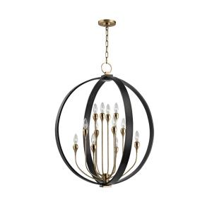 Dresden - Twelve Light 2-Tier Chandelier