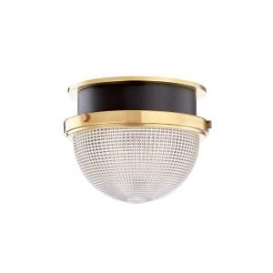 Lucien One Light Small Flush Mount - 9 Inches Wide by 7.25 Inches High