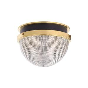 Lucien One Light Large Flush Mount - 14 Inches Wide by 10 Inches High
