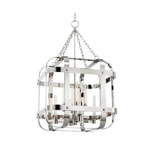 Colchester - Eight Light Pendant - 27.5 Inches Wide by 48 Inches High