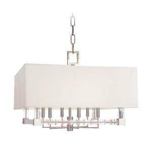 Alpine - Six Light Pendant - 26 Inches Wide by 18.75 Inches High