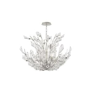 Tulip - Four Light Flush Mount in Transitional Style - 23.25 Inches Wide by 7 Inches High