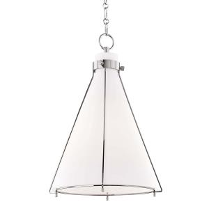 Eldridge One Light Pendant - 15.5 Inches Wide by 23.5 Inches High