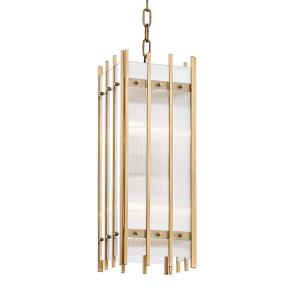 Wooster Small Pendant 4 Light - 7.5 Inches Wide by 20.25 Inches High