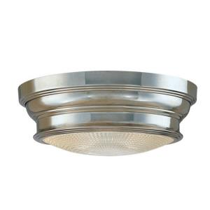Woodstock Collection - One Light Flush Mount