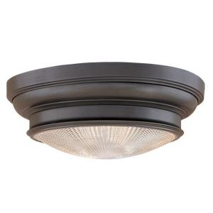 Woodstock Collection - Three Light Flush Mount