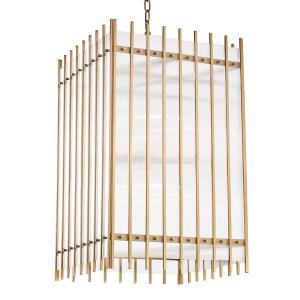 Wooster Large Pendant 8 Light - 19 Inches Wide by 30 Inches High