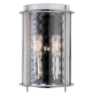 Esopus - Two Light Wall Sconce - 7 Inches Wide by 10.5 Inches High