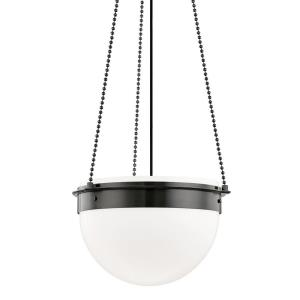 Silo - 14 Inch One Light Pendant in Contemporary Style - 18.75 Inches Wide by 14 Inches High
