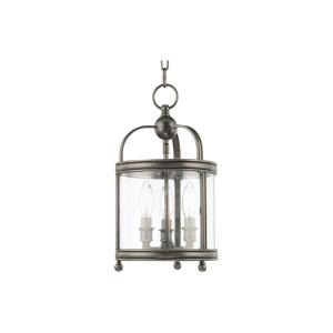 Larchmont - Three Light Pendant - 8.5 Inches Wide by 15.5 Inches High