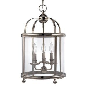 Larchmont - Three Light Pendant - 12.5 Inches Wide by 22 Inches High