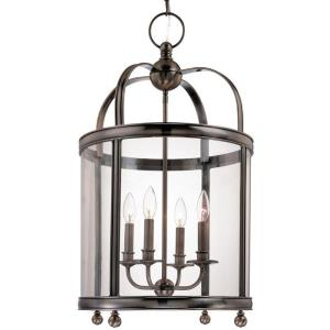 Larchmont - Four Light Pendant - 16.5 Inches Wide by 29 Inches High