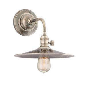 Heirloom - One Light Wall Sconce - 10 Inches Wide by 13.75 Inches High