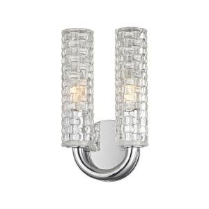 Dartmouth - Two Light Wall Sconce - 6.25 Inches Wide by 10.75 Inches High