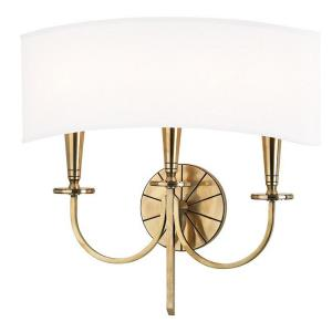 Mason - Three Light Wall Sconce - 17 Inches Wide by 16.5 Inches High
