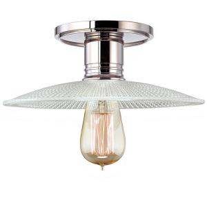 Heirloom - One Light Semi-Flush Mount - 10 Inches Wide by 9.25 Inches High