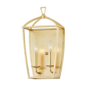 Bryant - 2 Light Wall Sconce in Transitional Style - 10.25 Inches Wide by 19 Inches High