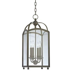 Millbrook - Four Light Pendant - 10 Inches Wide by 24.75 Inches High