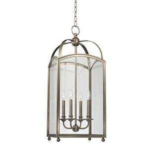 Millbrook - Four Light Pendant - 14 Inches Wide by 34 Inches High