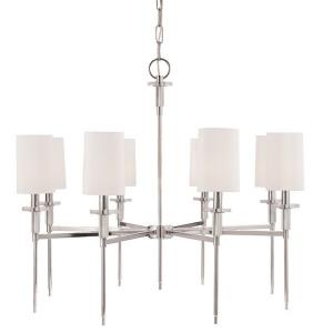 Amherst - Eight Light Chandelier - 32 Inches Wide by 27 Inches High