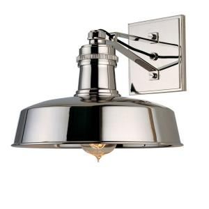 Hudson Falls - One Light Wall Sconce - 10 Inches Wide by 8.5 Inches High