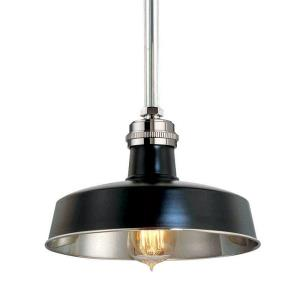 Hudson Falls - One Light Pendant - 10 Inches Wide by 6.38 Inches High