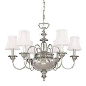 Yorktown Collection - Six Light Chandelier