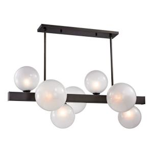 Hinsdale 7-Light Island Pendant - 21.25 Inches Wide by 17.75 Inches High