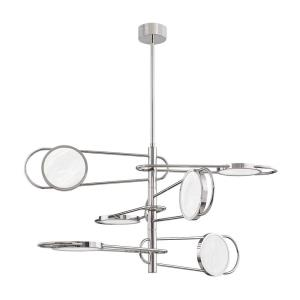 Valeri - 49 Inch 540W 6 LED Pendant in Contemporary Style - 49 Inches Wide by 24 Inches High