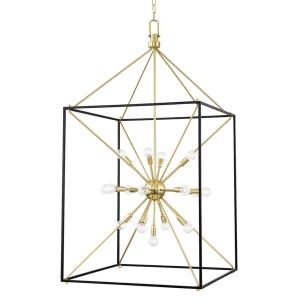 Glendale - 25 Light Chandelier in Contemporary/Modern Style - 27 Inches Wide by 51.5 Inches High