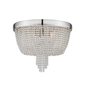 Royalton - Four Light Flush Mount - 18.25 Inches Wide by 14.5 Inches High