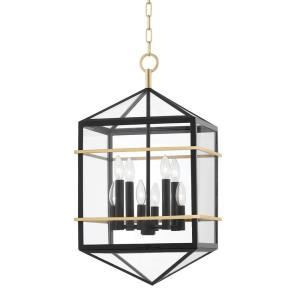 Bedford Hills - 8 Light Pendant in Contemporary/Modern Style - 14.75 Inches Wide by 27 Inches High