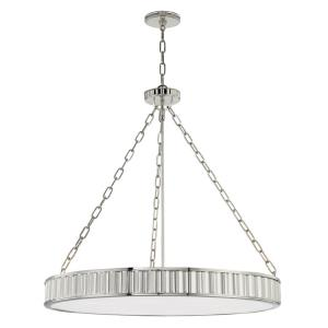 Middlebury - 30 Inch 48W 8 LED Chandelier in Modern/Transitional Style - 30 Inches Wide by 29 Inches High