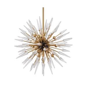 Sparta - Twelve Light Chandelier - 32 Inches Wide by 32 Inches High