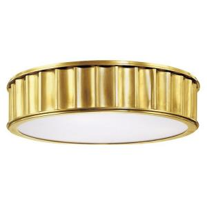 Middlebury - Three Light Flush Mount - 16 Inches Wide by 4 Inches High