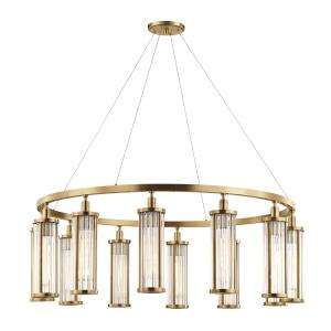 Marley 12-Light Pendant - 42.5 Inches Wide by 15 Inches High