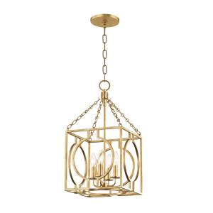 Octavio 4-Light Pendant - 11.75 Inches Wide by 22.75 Inches High