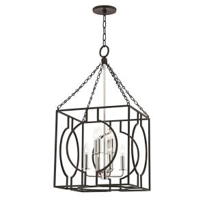 Octavio 8-W Pendant - 18 Inches Wide by 34 Inches High