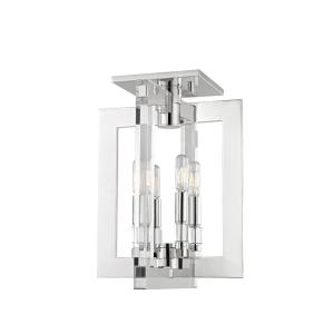 Wellington - Four Light Flush Mount - 12 Inches Wide by 16.25 Inches High