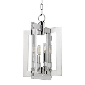 Wellington - Four Light Pendant - 12 Inches Wide by 18.75 Inches High