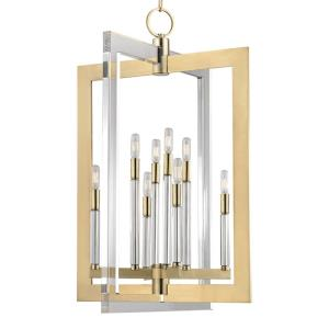 Wellington - Eight Light Pendant - 23 Inches Wide by 34.75 Inches High