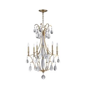 Crawford - Six Light Chandelier - 24.25 Inches Wide by 39 Inches High