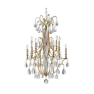 Crawford - Twelve Light Chandelier - 30.5 Inches Wide by 42.5 Inches High