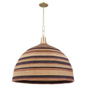 Lido Beach - 40 Inch 1 Light Pendant in Transitional Style - 40 Inches Wide by 39.75 Inches High