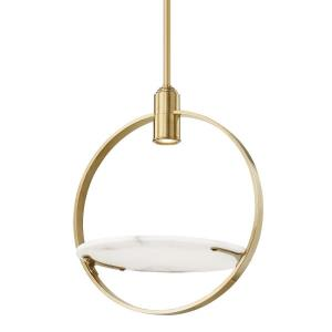 Dreyer - 21.5 Inch 9W 1 LED Pendant in Modern Style - 21.5 Inches Wide by 25.5 Inches High