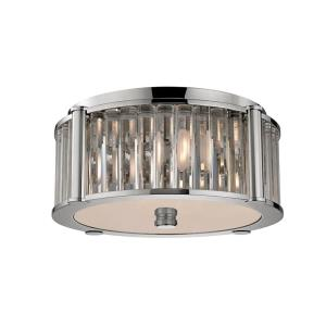 Hartland - Three Light Flush Mount - 14.75 Inches Wide by 6 Inches High