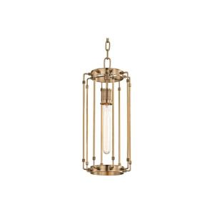 Hyde Park 1-Light Pendant - 8.5 Inches Wide by 20 Inches High